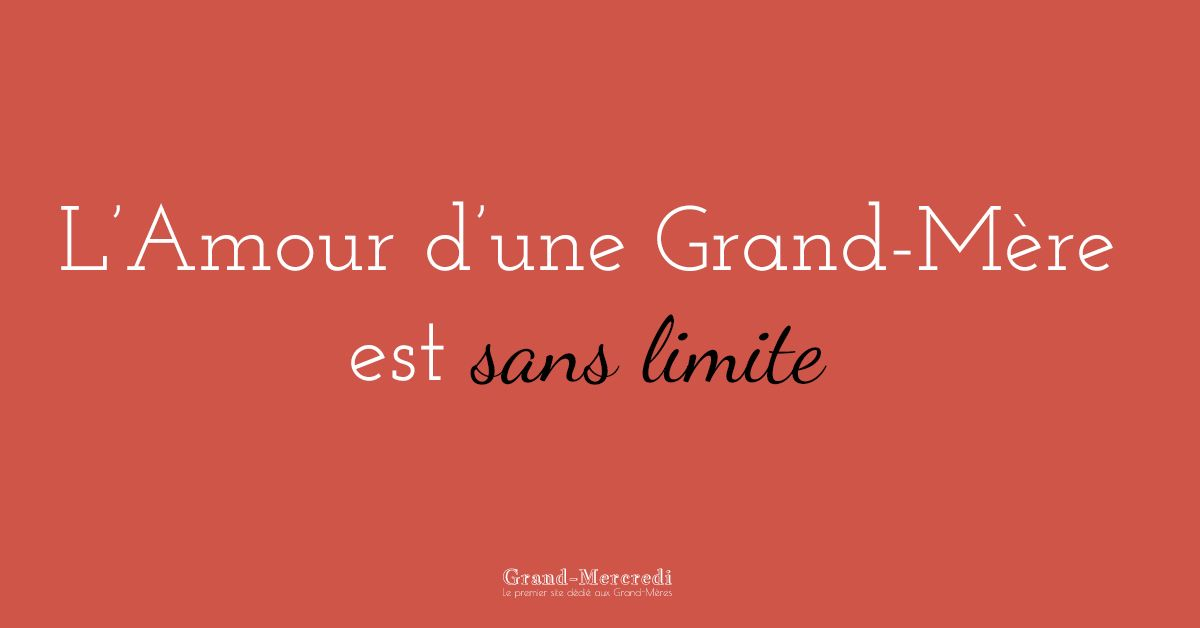 citation amour grand mere