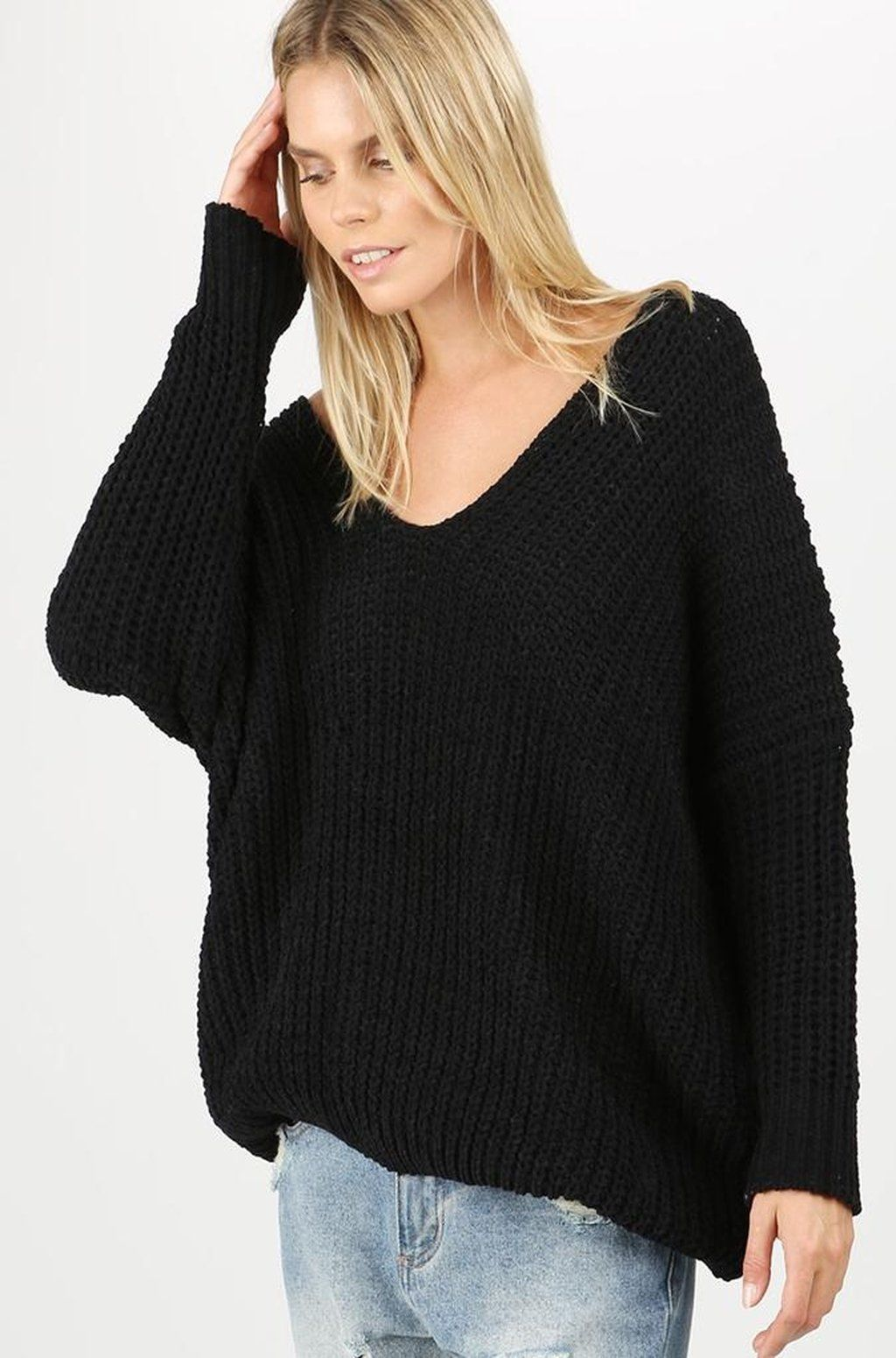 Momiform Knit Pullover by DREAMERS