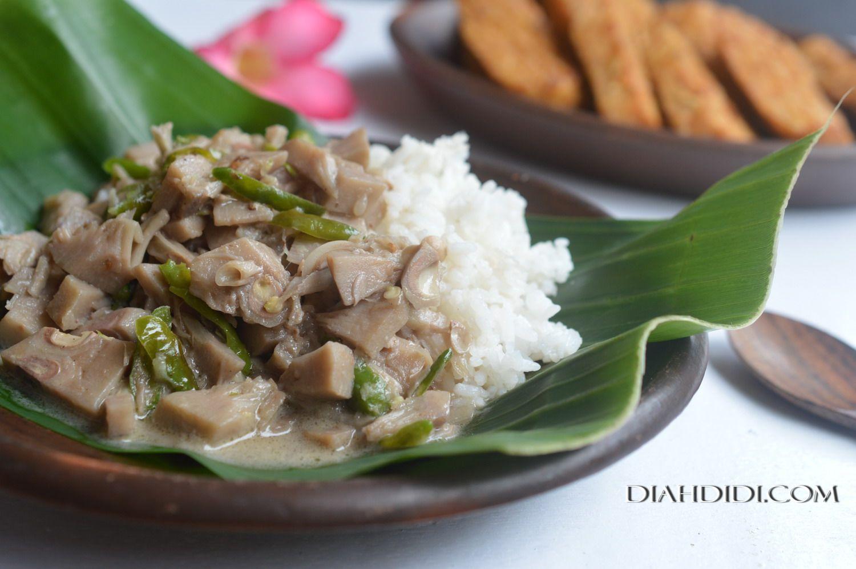 Sego Tewel Khas Tambakromo Kabupaten Pati Memasak Makanan Sehat Resep Masakan Indonesia