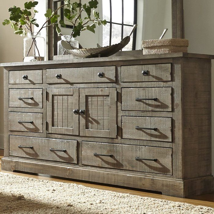 Buford 9 Drawer Combo Dresser Progressive Furniture Dresser With Mirror