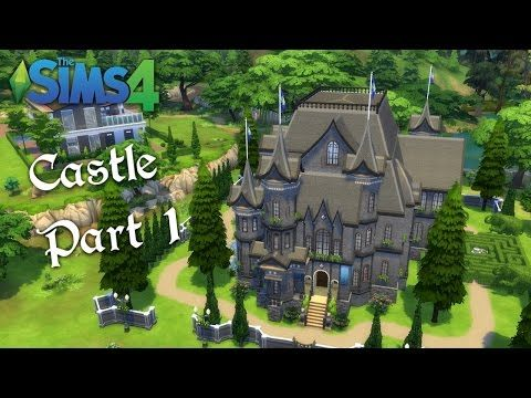 The Sims 4 Speed Build   Gothic Castle    PART 1   YouTube. The Sims 4 Speed Build   Gothic Castle    PART 1   YouTube
