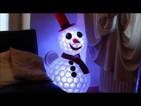 10 Unique DIY Outdoor Christmas Lighting Craft Ideas Outdoor - outdoor snowman christmas decorations