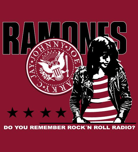 Ramones on Reverbcity t-shirt