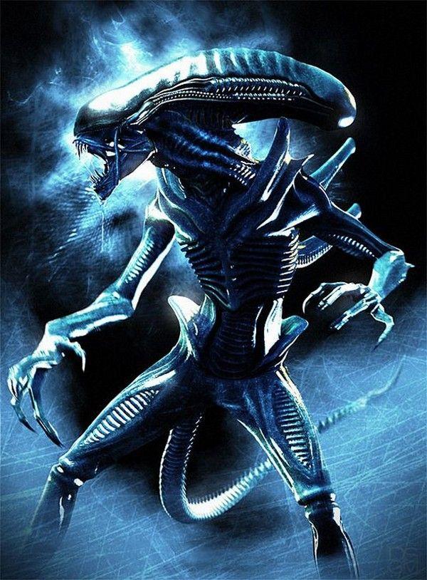 Aliens+figurine+Movie+Masterpiece+1/6+Alien+Warrior+Hot
