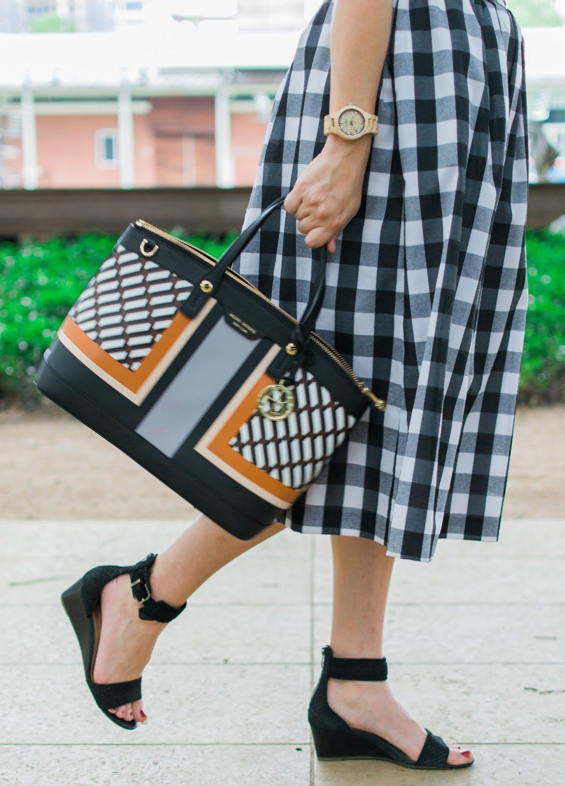 the Lone Star Looking Glass: Buffalo Plaid for Summer