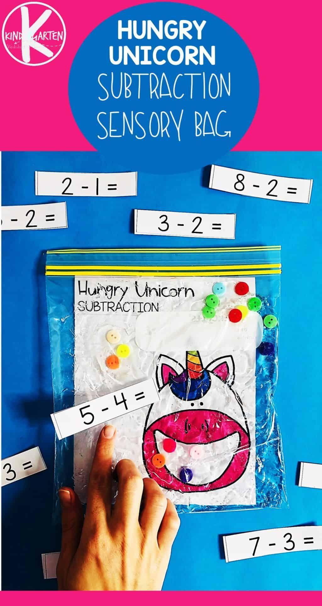 Hungry Unicorn Is A Fun Hands On Kindergarten Math
