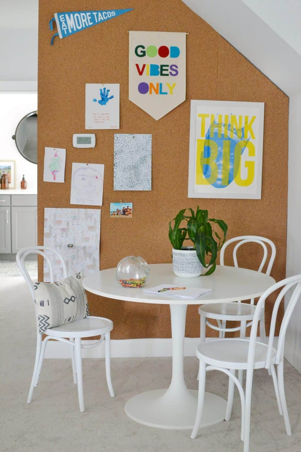 diy the easiest cork board wall in an afternoon in 2020 on inspiring workspace with a cork wall creating a custom cork board for your home id=30722
