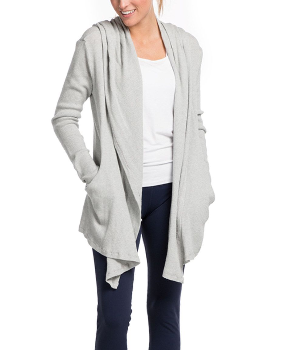 Look what I found on #zulily! Pink Lotus Heather Gray Urban Thermal Wrap by Pink Lotus #zulilyfinds