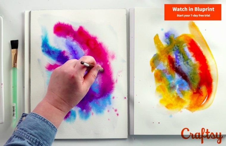 7 Best Online Watercolor Classes Watercolor Courses For Beginners