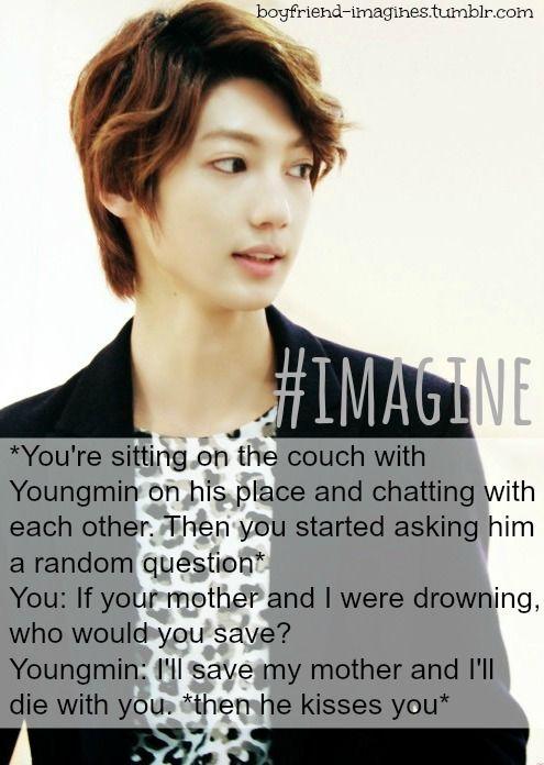 Youngmin Boyfriend Kpop Imagine Boyfriend Imagines Boyfriend Kpop Imagine