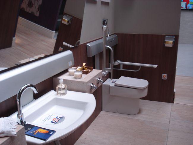 Mostra de Arquitetura Universal acessibilidade -> Pia Para Banheiro Pne