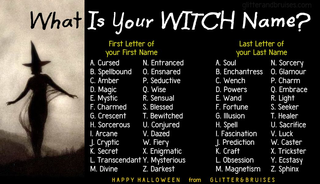 Pin By Krissie Gault On Challenges Witch Names Names Name Generator
