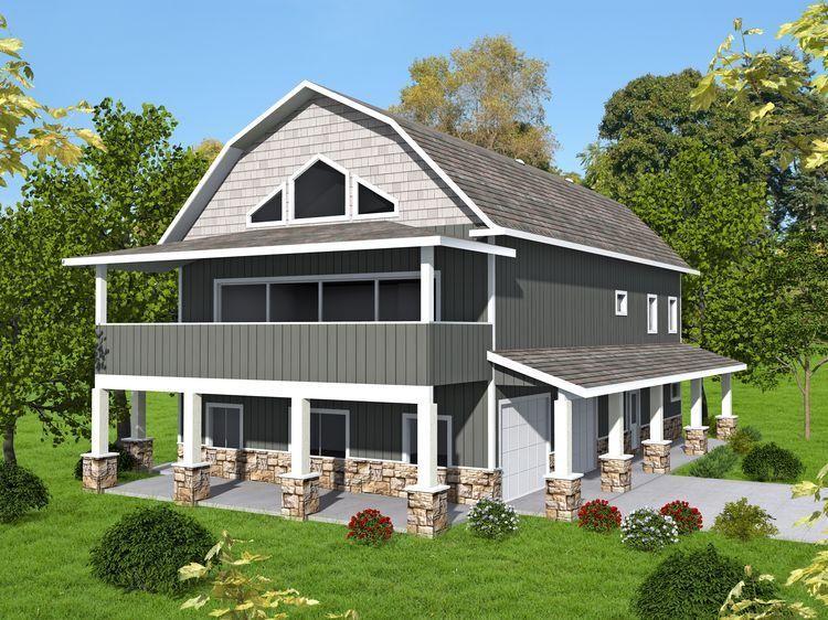 Hpm Home Plans Home Plan 001 3654 Carriage House Plans Garage Apartment Plan Garage House Plans