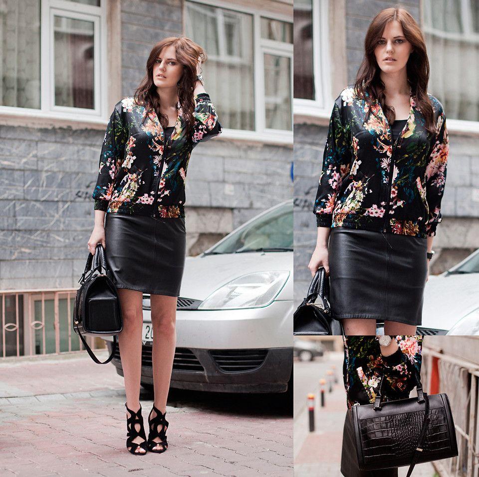 Viktoriya Sener - Tb Dress Coat, Black Five Shirt, Zara