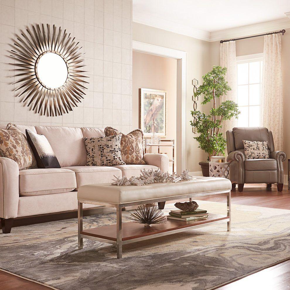 minimalist flooring living room shabby-chic style with sunburst ...