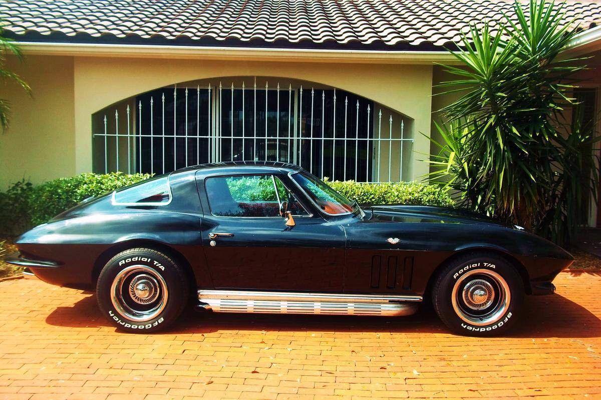 New Car. Old Car: 1966 Chevrolet Corvette | corvettes | Pinterest ...