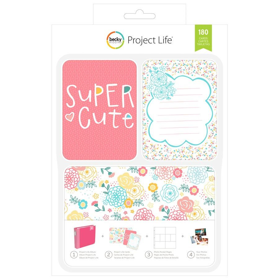 Project Life - Super Cute - Value Kit   Project life, Kit