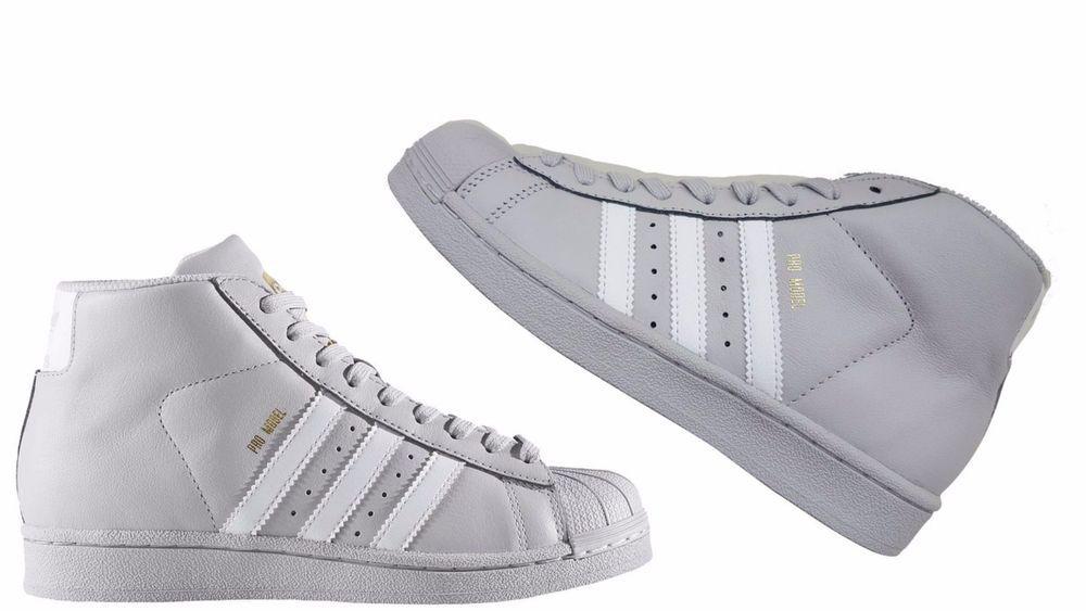Adidas Originals Kids modelo Pro GRIS / blanco Metallic Gold cg5075