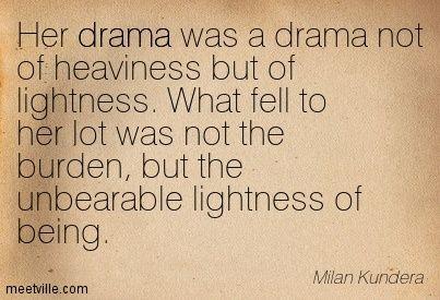 lightness of being definition
