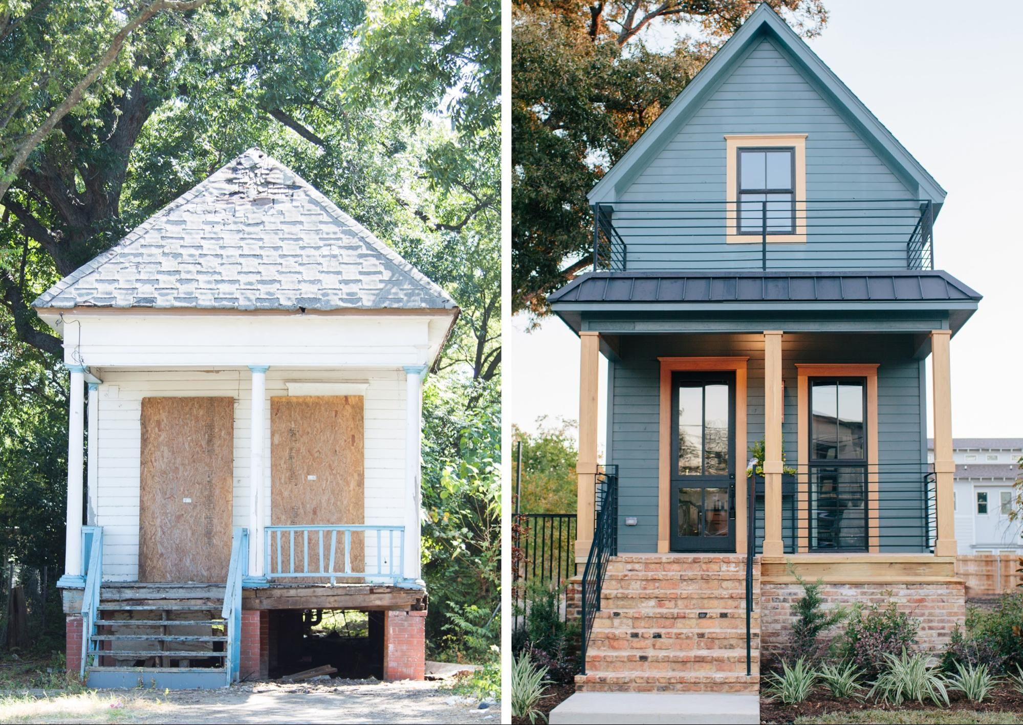 Fixer upper joanna gaines smallest house and tiny houses for Modular shotgun house