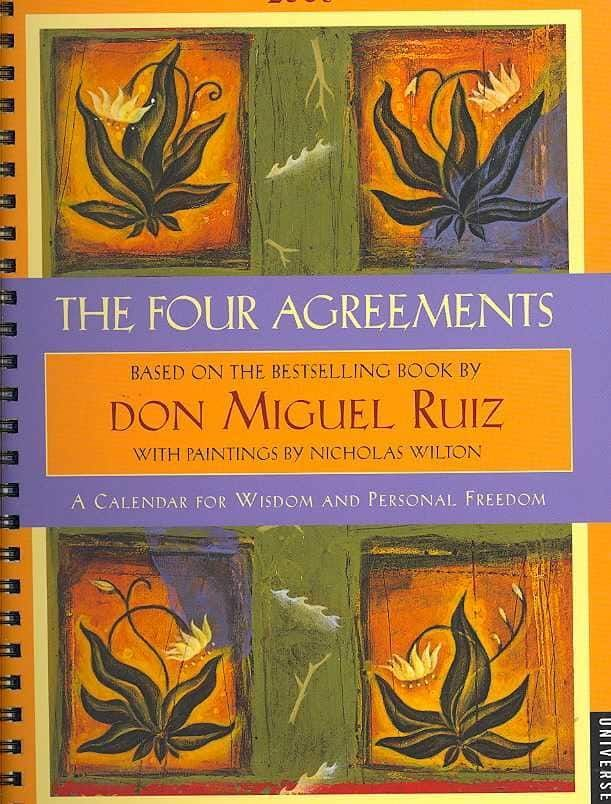 Four Agreements 2008 Calendar Products Pinterest Products