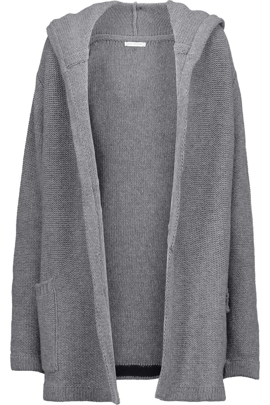 CHINTI AND PARKER Merino Wool And Cashmere-Blend Hooded Cardigan ...