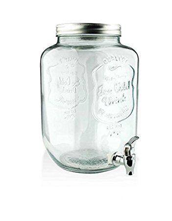3 Liter Getränkespender GLANCE mit Hahn Saftspender Getränke ...