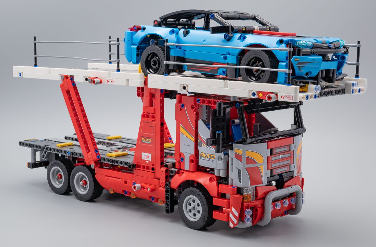 Vite testé LEGO Technic 42098 Car Transporter