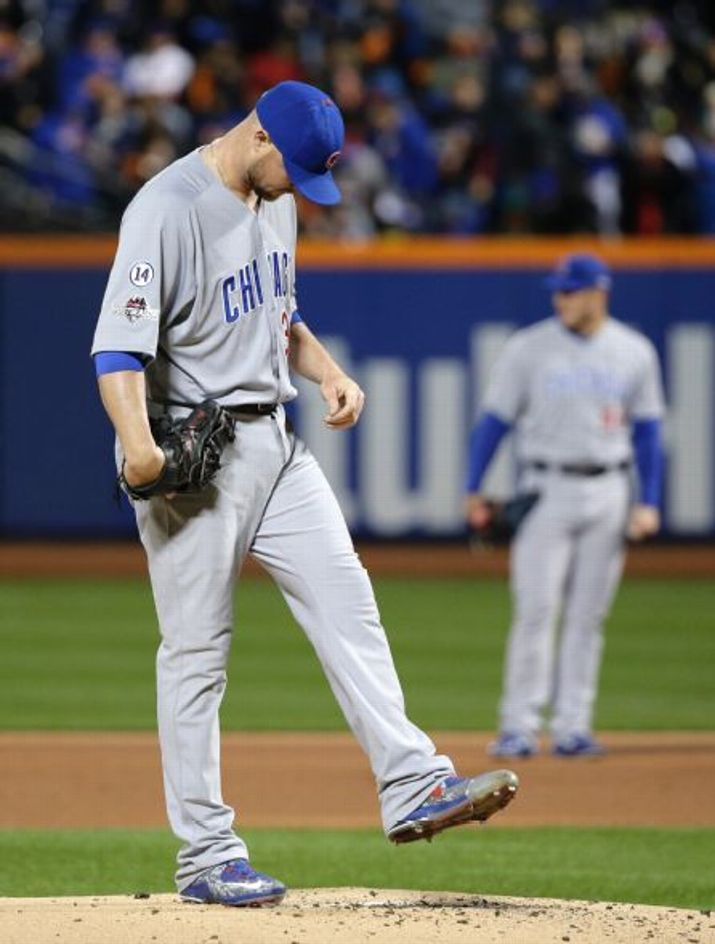 Jon Lester, CHC////Game 1 NLCS at NYM, Oct ,17,2015