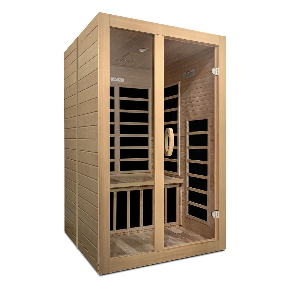 Dynamic Santiago 2 Person Low Emf Far Infrared Sauna Infrared Sauna Sauna Infrared Heating Panels
