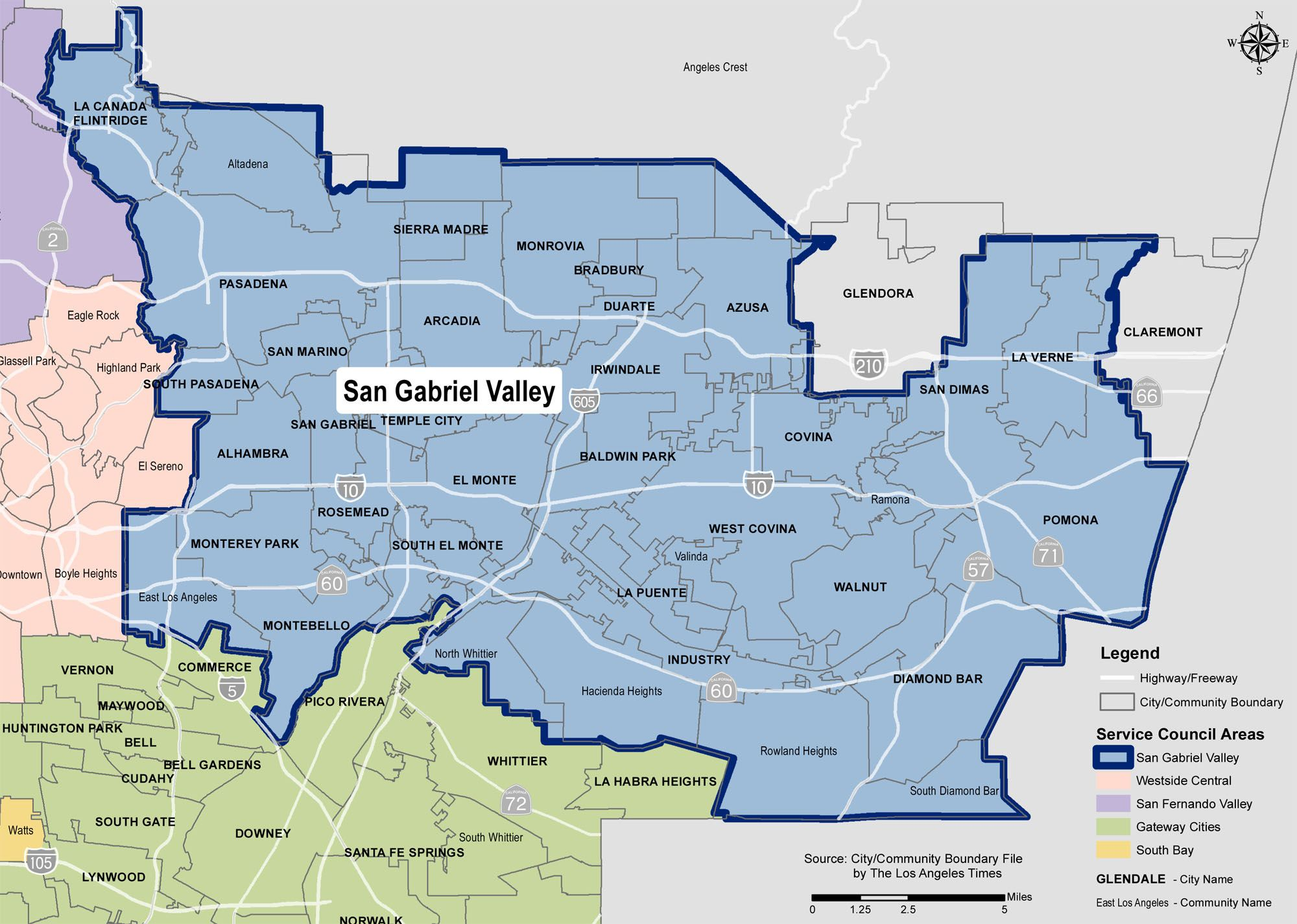 Another map | San Gabriel Valley | Pinterest | Gabriel