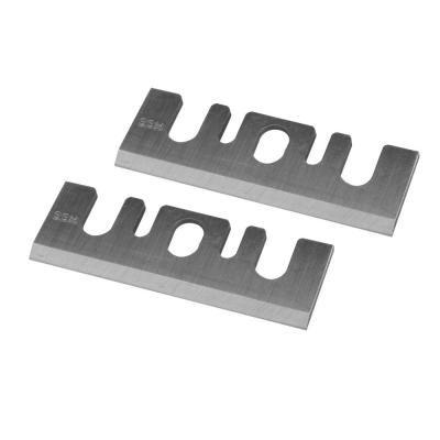 Powertec 3 1 4 In High Speed Steel Planer Blades For Hitachi P20sbk Set Of 2 128330 High Speed Steel Power Tool Accessories Tool Steel