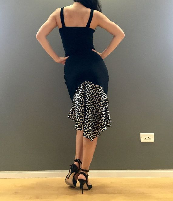 Polka Da Sala.Olivia Dance Dress Polka Dot By 5thdimensionnewyork On Etsy