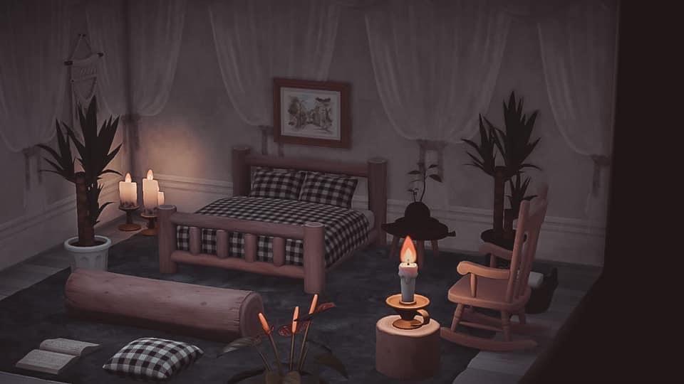 Pin by Emeline Bonnet on Animal crossing new horizons in ... on Animal Crossing New Horizons Bedroom Ideas  id=57852