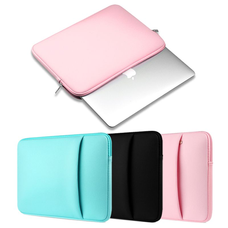 "11/""-15/"" Notebook Laptop Hand Bag Sleeve Cover Case For Macbook Mac Air Pro  Dell"