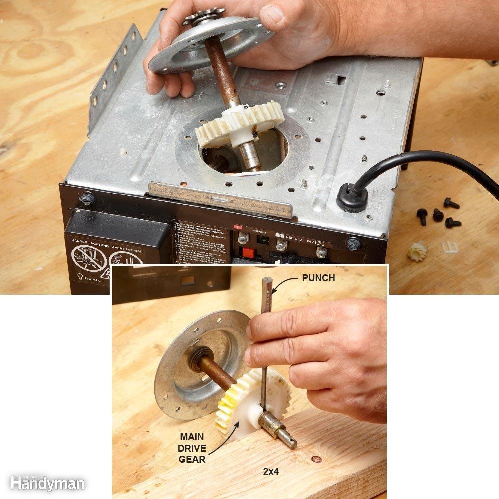 How To Repair A Garage Door Opener Garage Doors Garage Door Opener Repair Liftmaster Garage Door Opener