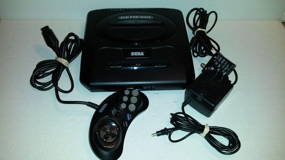sega genesis system mk-1631 for parts/repair console & controller ...