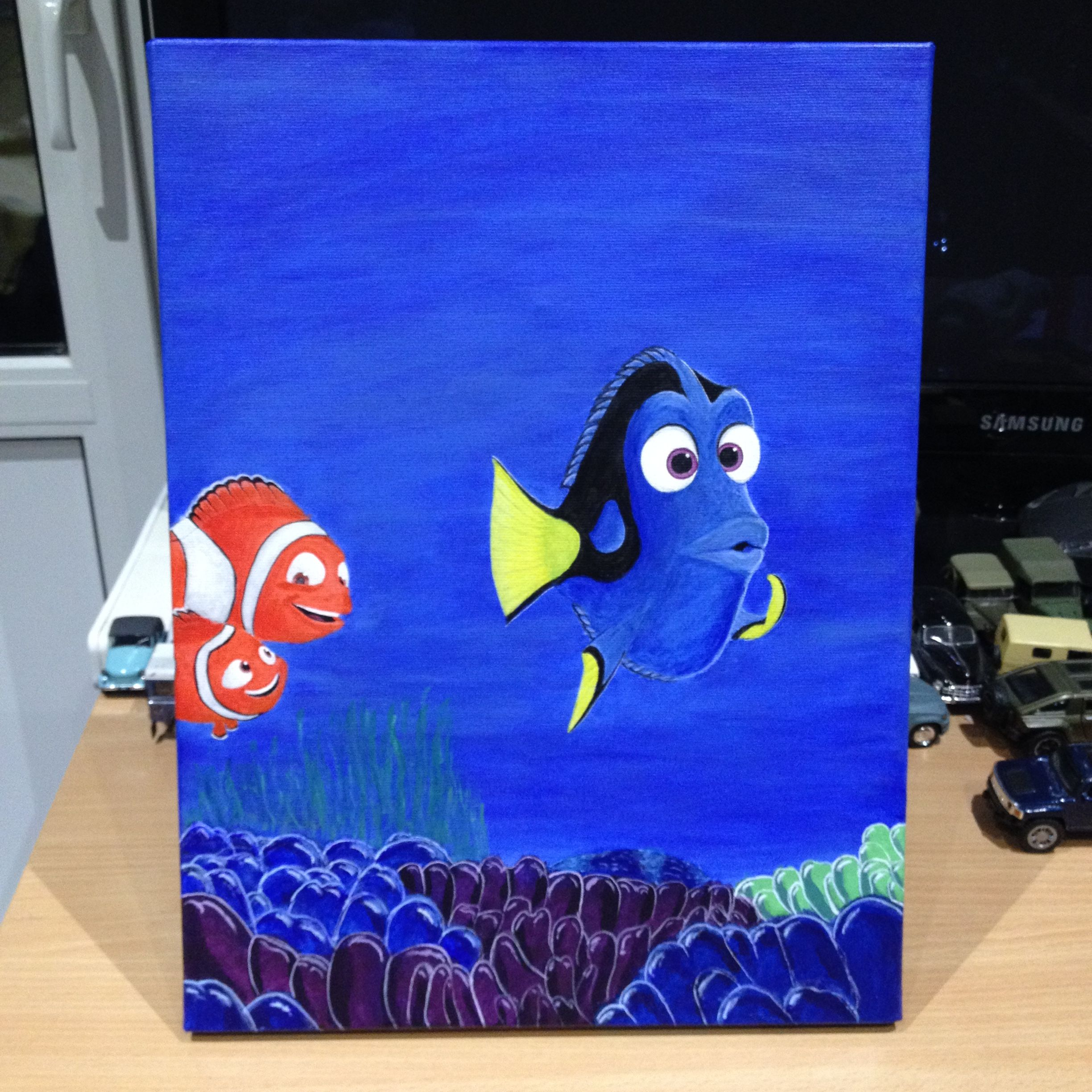 Finding Dory/Nemo Painting (Canvas)