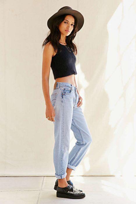 20 Increibles Outfits Que Haran Babear A Todos Los Hombres Que Esten Tras De Ti Fashion Outfits Con Jeans Casual Oufits