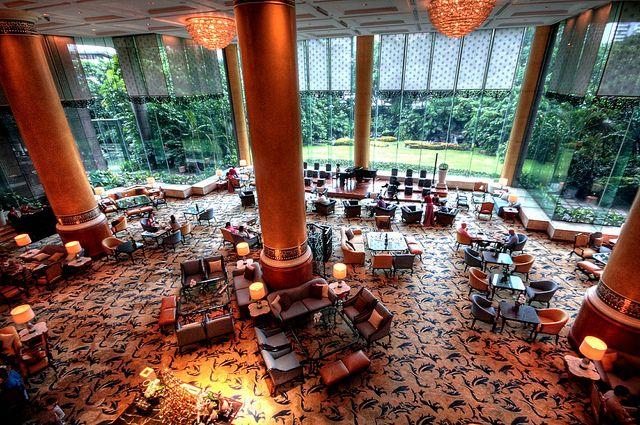 Lobby Lounge Shangri-La Makati