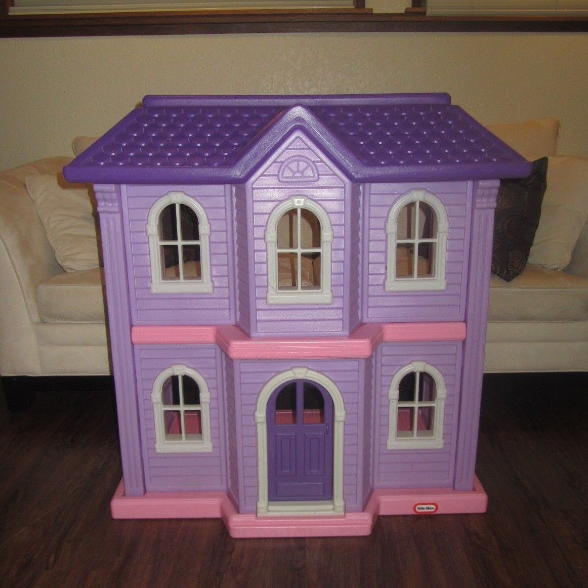 Little Tikes Bedroom Furniture Little Tikes My Size Barbie Pink Doll House Complete With