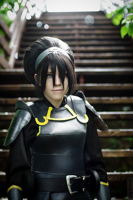 Avatar Legend of Korra: Toph Bei Fong (Chief of Police version) #cosplay #avatarlegendofkorra