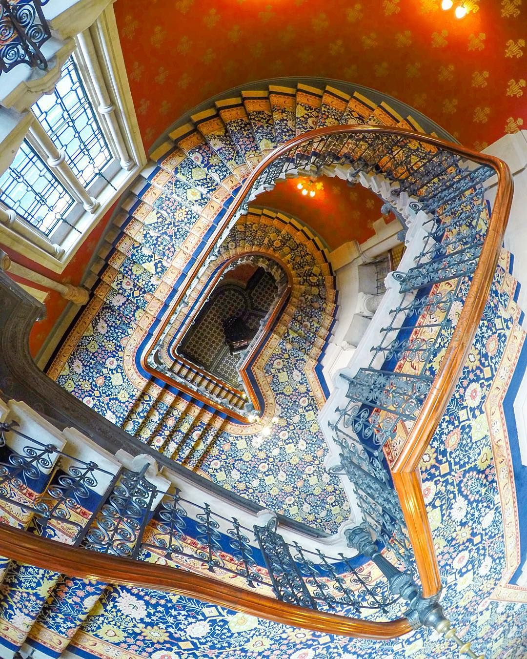 "tnbiskitt on Instagram: ""The Grand Staircase, St Pancras Renaissance Hotel…"