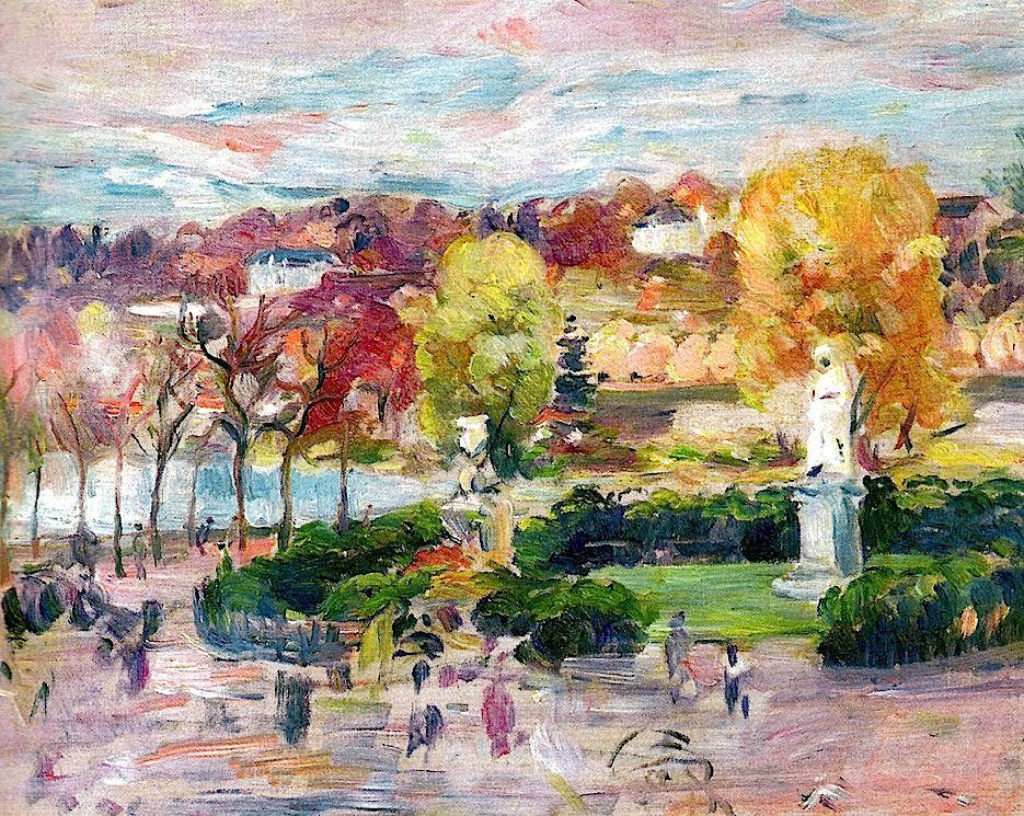 bofransson:  Berthe Morisot - Landscape of Tours, 1892