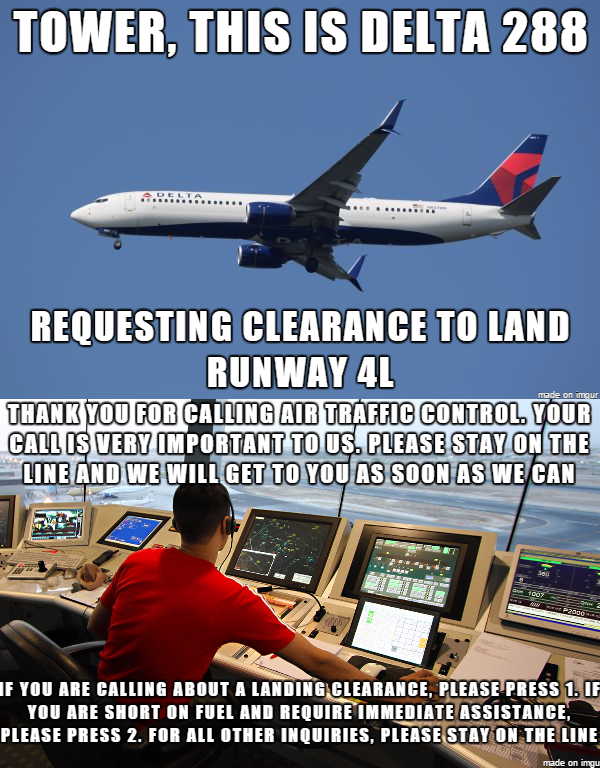 So, we're privatizing Air Traffic Control now? Aviation