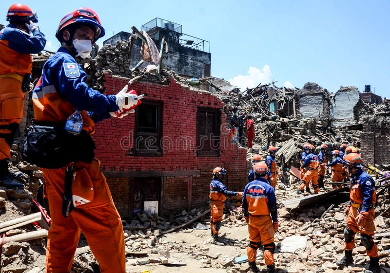 NEPALEARTHQUAKE2015 Japan army on rescue work at Sankhu village The Nepal ea