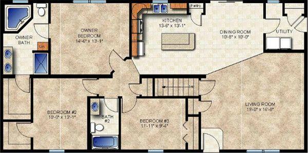 Universal Design Modular Home Plans For Kitchens