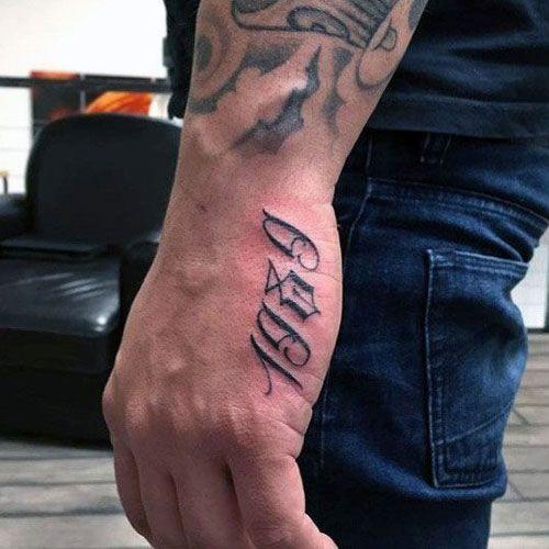 125 Best Hand Tattoos For Men Cool Designs Ideas 2019 Guide Side Hand Tattoos Hand Tattoos For Guys Hand Tattoos