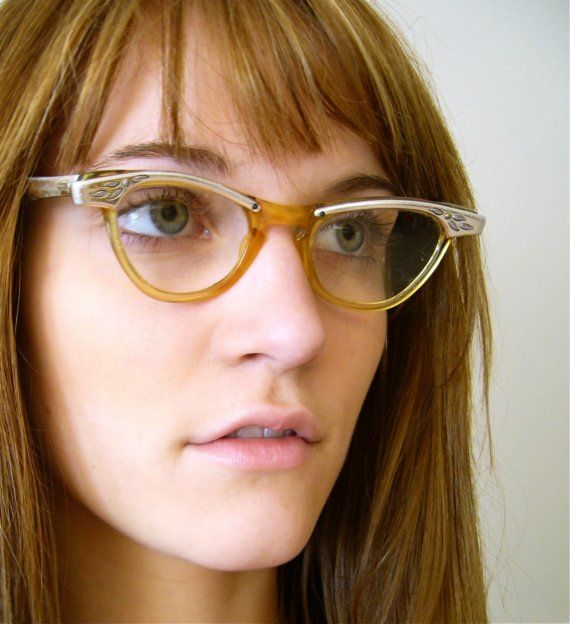 1950's Vintage Cat Eye Glasses from Shuron