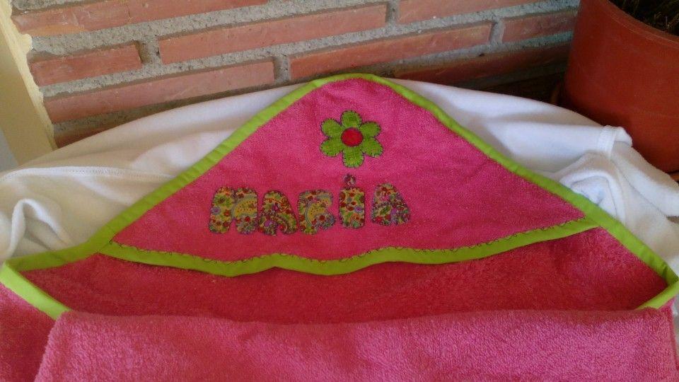Capa de baño patchwork